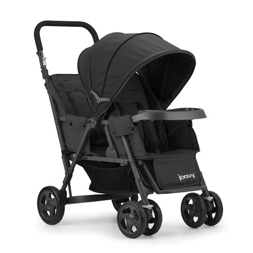 Joovy Caboose Too Graphite Stand-On Tandem Stroller - Black