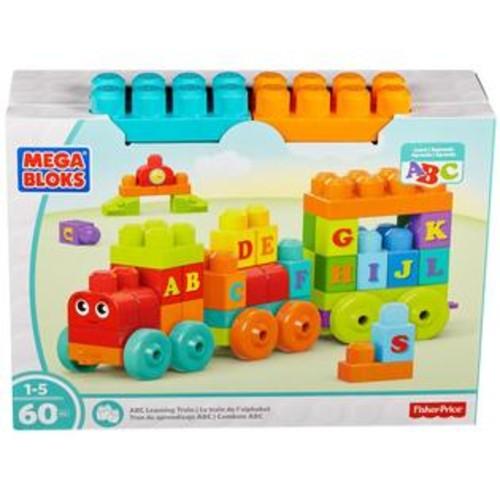 Mega Bloks ABC Learning Train Playset