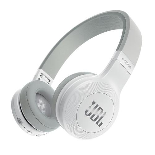 E45BT Bluetooth On-Ear Headphones (White)