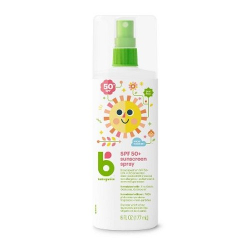 Babyganics 6-oz. Moisturizing SPF 50 Sunscreen Spray