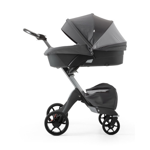 Athleisure Xplory Carry Cot with Shell, Gray