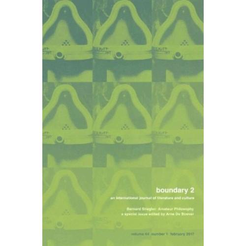 Bernard Stiegler : Amateur Philosophy (Paperback)