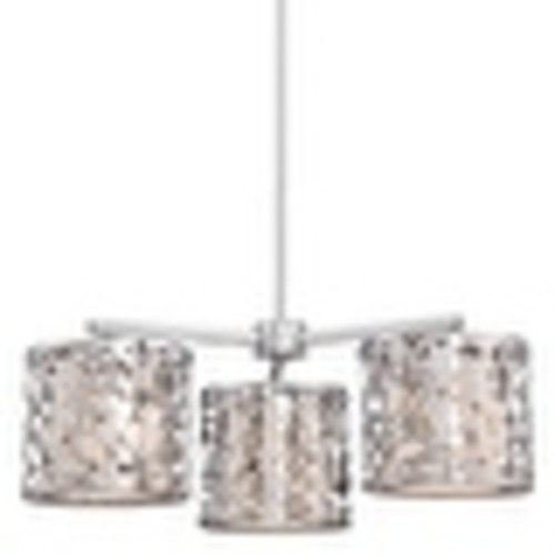 Kovacs P7984-077 3 Light 1 Tier Chandelier from the Layover Collection