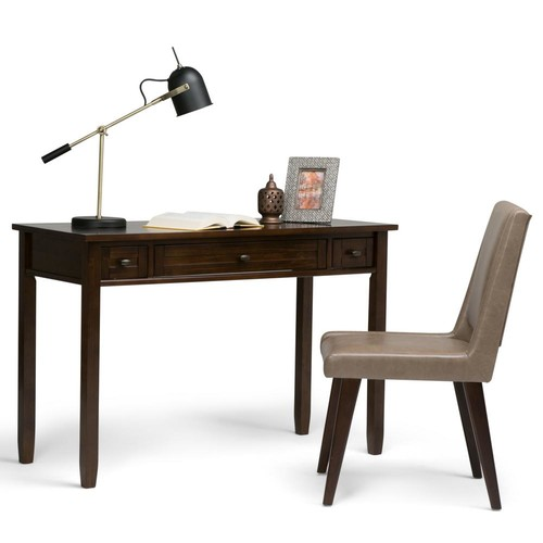 Simpli Home Tobacco Brown Desk