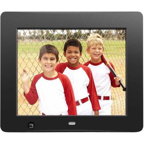 Aluratek ADMSF108F 8-Inch Digital Photo Frame with Energy Efficient Motion Sensor 4GB Built in Memory