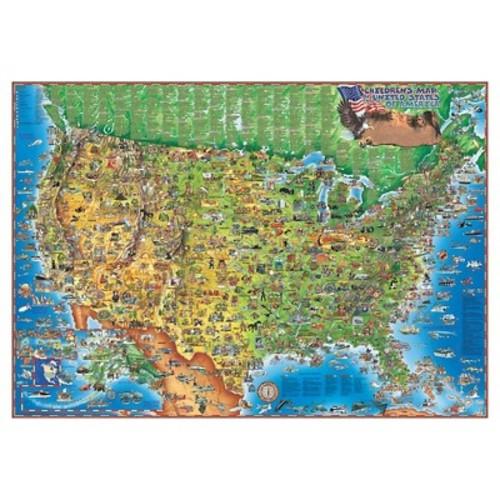 HEMA MAPS HEM2073 UNITED STATES OF AMERICA