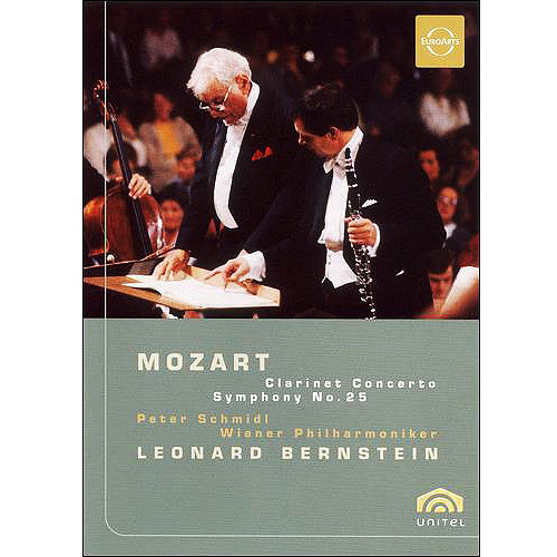 Mozart: Clarinet Concerto - Symphony No. 25 [DVD] [English] [1987]