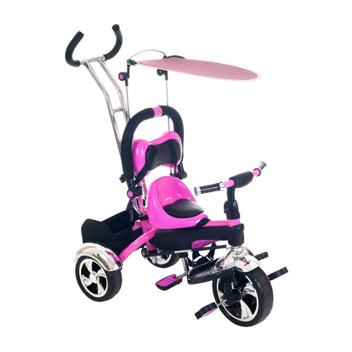 2-in-1 Stroller Tricycle Ride On by Lil' Rider
