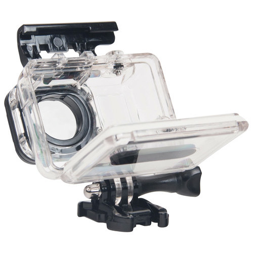 Bower - Water-Resistant Housing for GoPro HERO3, 3+, 4 and HERO+ LCD - Clear