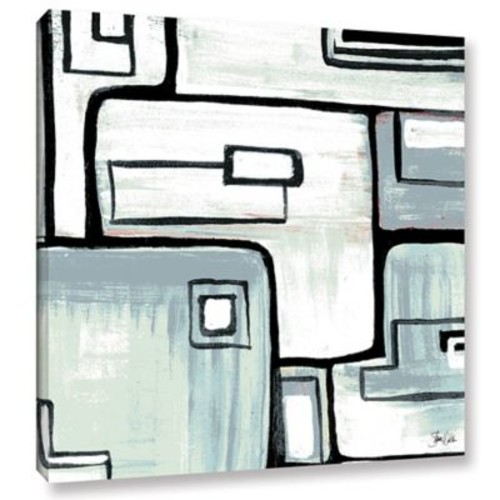Orren Ellis 'Abstract III' Painting Print on Wrapped Canvas; 24'' H x 24'' W x 2'' D