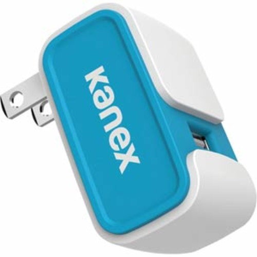 Kanex 2.4A USB Wall Charger - Blue