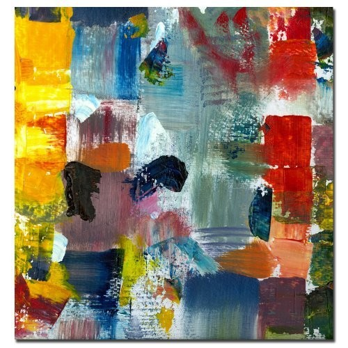 Trademark Fine Art Color Relationships III by Michelle Calkins, 18x18-Inch Canvas Wall Art
