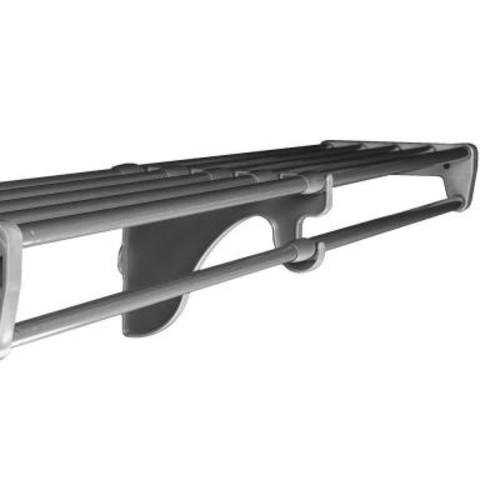 EZ Shelf 40 in. - 73 in. Expandable Shelf in Silver