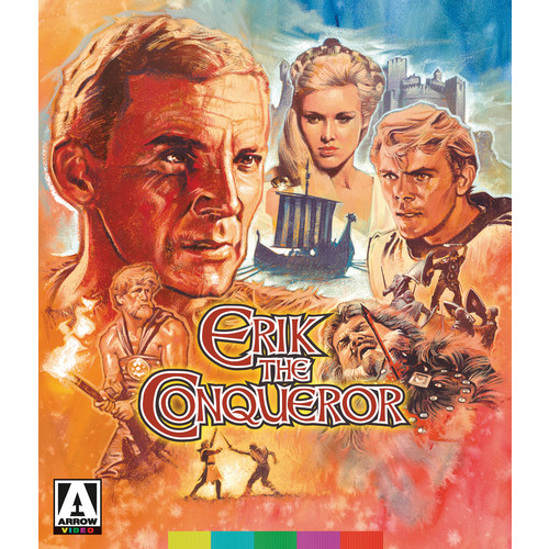 Erik the Conqueror [Blu-ray/DVD] [2 Discs] [1961]