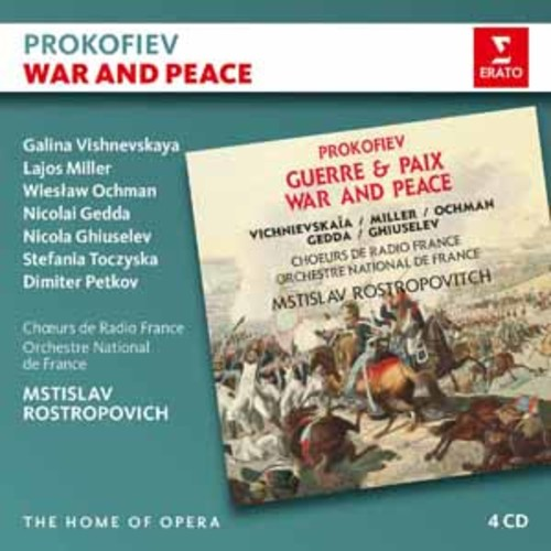 Mstislav Rostropovich - Prokofiev: War and Peace (4CD) [Audio CD]