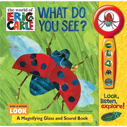 Eric Carle Magnifying Glass Book