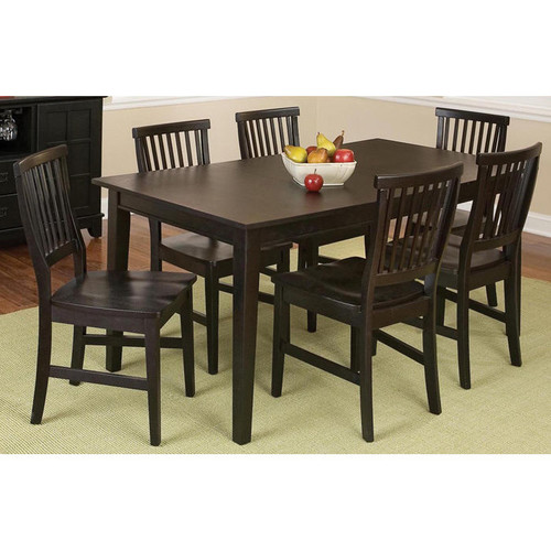 Home Styles 7-Piece Arts & Crafts Rectangular Dining Set