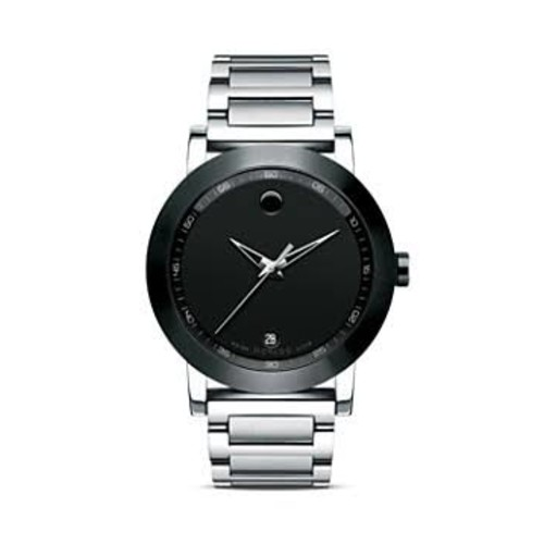 Movado Watch, Mens Swiss Museum Sport Stainless Steel Bracelet 42mm 06