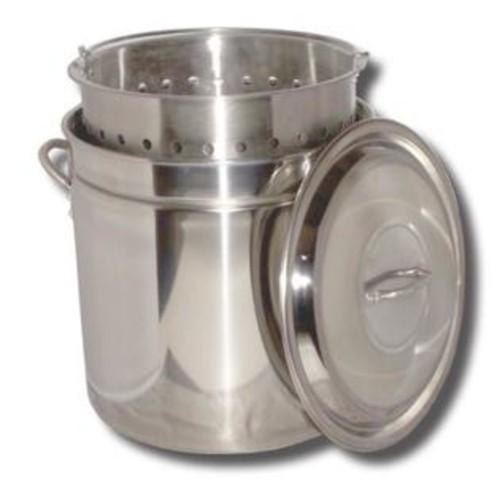 King Kooker King Kooker KK36SR Ridged Stainless Steel Pot, 36-Quart