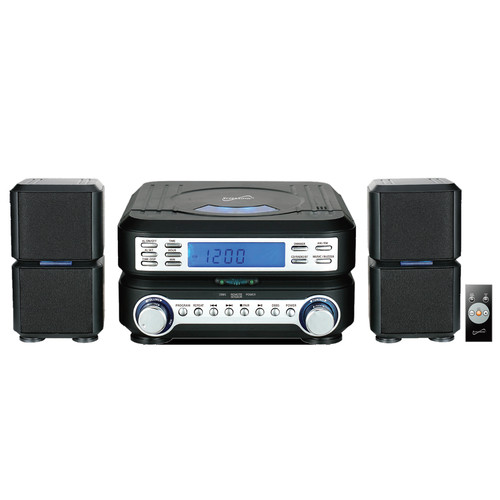 Supersonic 97095099M Portable Micro System with Bluetooth ,CD Player, AUX Input & AM/FM Radio