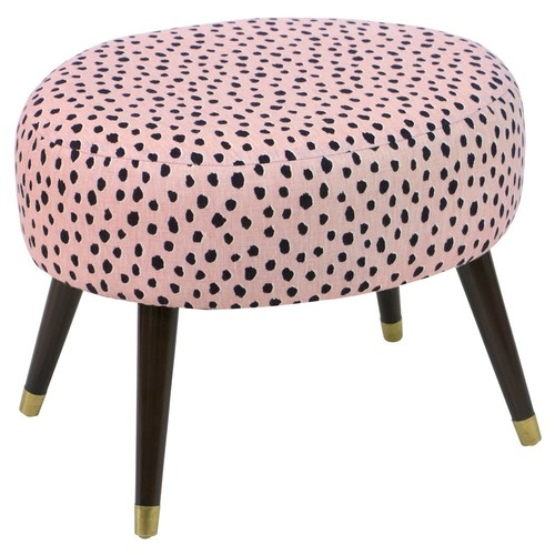 Dani Ottoman, Pink Polka Dots