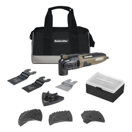 Rockwell RK5121K Sonicrafter Oscillating Tool Kit, 3 Amp
