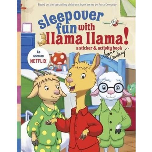 Sleepover Fun With Llama Llama : A Sticker & Activity Book (Paperback)