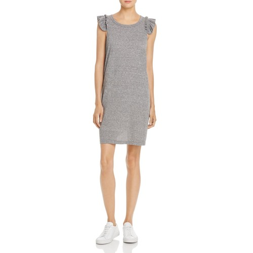 CURRENT/ELLIOTT The Ruffle Muscle Tee Dress