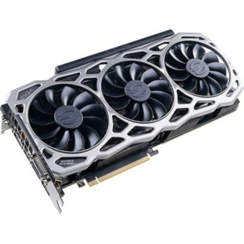 EVGA GeForce GTX 1080 Ti Graphic Card, 1.57 GHz Core, 1.68 GHz Boost Clock, 11 GB GDDR5X, PCI Express 3.0 x16