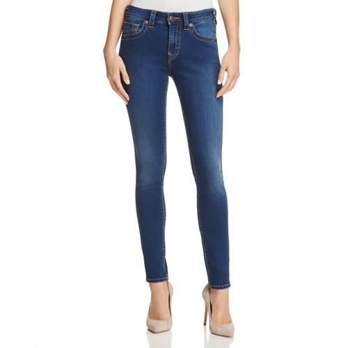 Jennie Curvy Skinny Jeans in Lands End Indigo