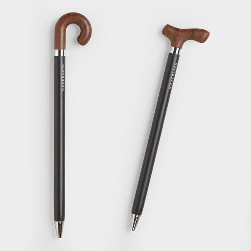 and Wise Cane Pens Set of 2