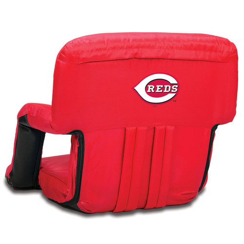 Picnic Time Cincinnati Reds Ventura Portable Reclining Seat