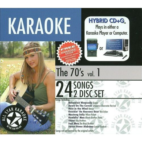 Karaoke: The 70's, Vol. 1 [CD]
