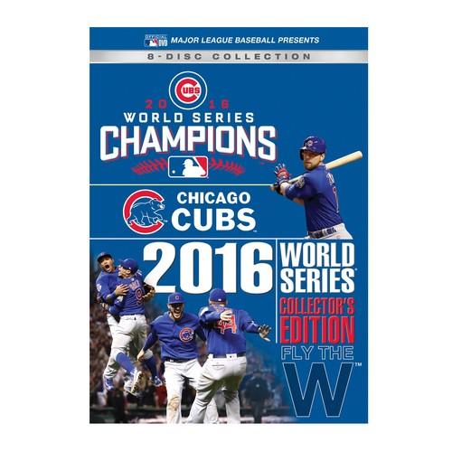Chicago Cubs 2016 World Series DVD CollectorsSet