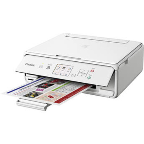 PIXMA TS5020 Wireless All-in-One Inkjet Printer (White)