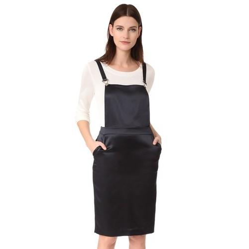 JENNI KAYNE Silk Overall Dress