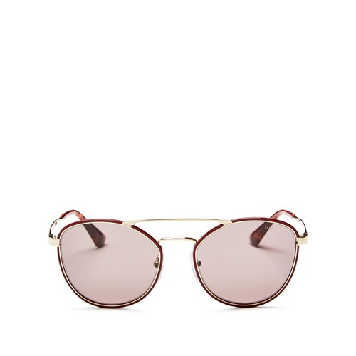 PRADA Cinema Evolution Square Sunglasses, 55Mm