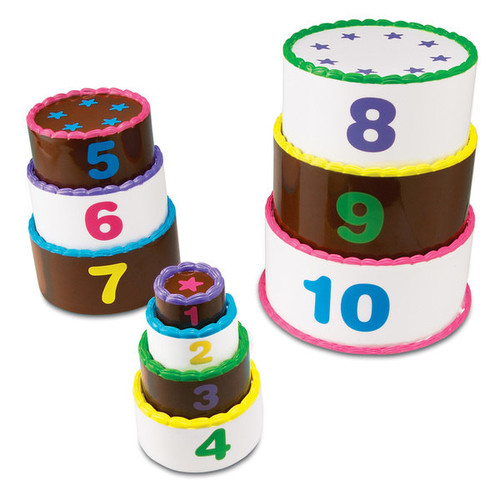 Learning Resources Smart Snacks Stack & Count Layer Cake - Smart Snacks Stack & Count Layer Cake