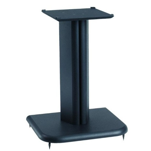 Sanus BF16b Basic Foundations Speaker Stand - Wood - Black