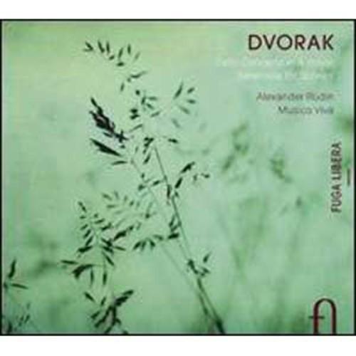 Dvork: Cello Concerto; Serenade for Strings By Alexander Rudin (Audio CD)