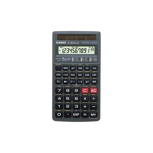 Casio FX-260 FX260SLR-SCHL-IH Solar Scientific Calculator