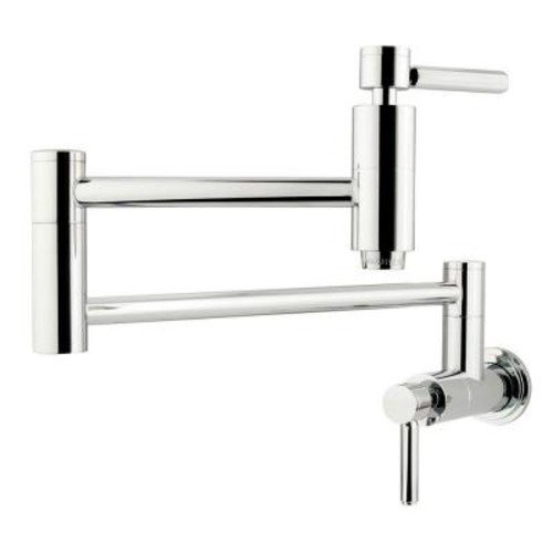 Kingston Brass Wall-Mounted Potfiller in Polished Chrome