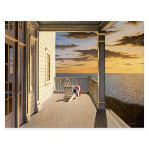 Courtside Market Last Light 24-Inch x 36-Inch Gallery Canvas Wall Art