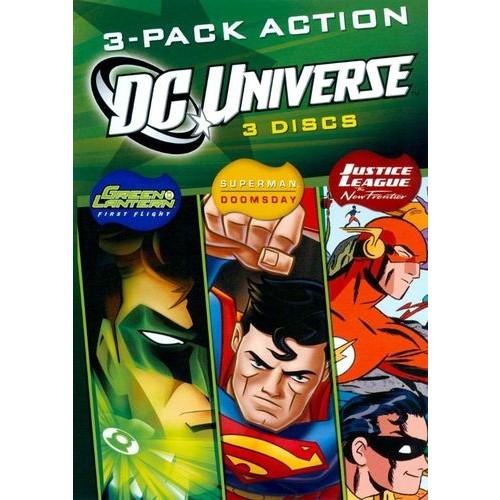 DC Universe: 3-Pack Action [3 Discs] [DVD]