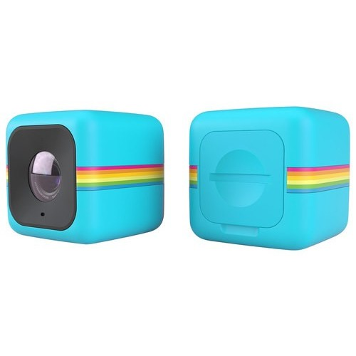 Polaroid - Cube Plus HD Action Camera - Blue