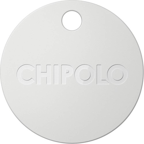 Chipolo - Chipolo Plus Item Tracker - Pearl White