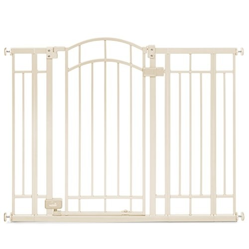 Summer Infant Multi-Use Deco Extra Tall Walk-Thru Gate, Beige [Beige]
