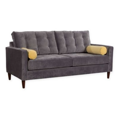 Zuo Savannah Sofa in Slate Grey/Golden