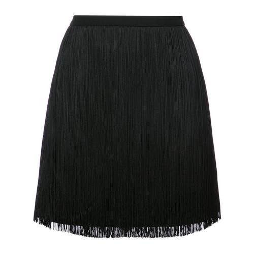 SAINT LAURENT Tassel Mini Skirt