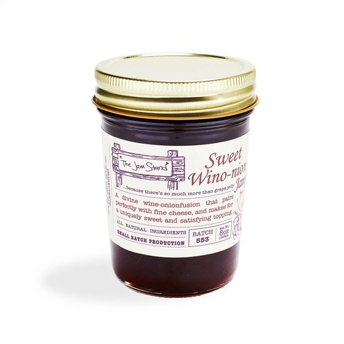 The Jam Stand Wine Onion Jam